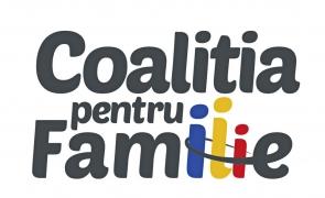 Coaliția pentru Familie: Respingem confiscarea politică a inițiativei noastre