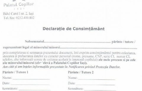 """În Iași, """"Părinte 1"""" și """"Părinte 2"""" înlocuiesc """"MAMA"""" și """"TATA"""" într-un document oficial. Terorism de gen?"""