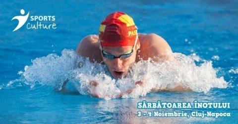 Sărbătoarea înotului la Cluj Napoca: Toți pentru înot și înot pentru toți!