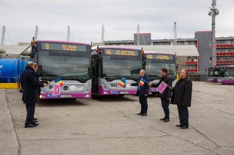 Elevii din Cluj-Napoca vor avea abonamente lunare gratuite pe transportul în comun public, deși școlile sunt pe scenariul roșu