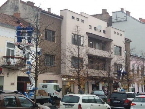 Clujul se pregătește pentru sărbătorile de iarnă