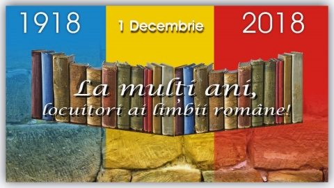La mulți ani, dragi locuitori ai limbii române!!!