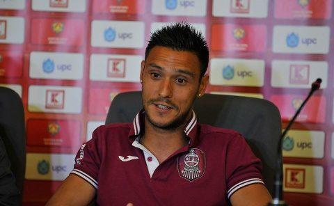 Căpitanul echipei de fotbal CFR Cluj, Mario Camora, vrea victoria cu FCSB