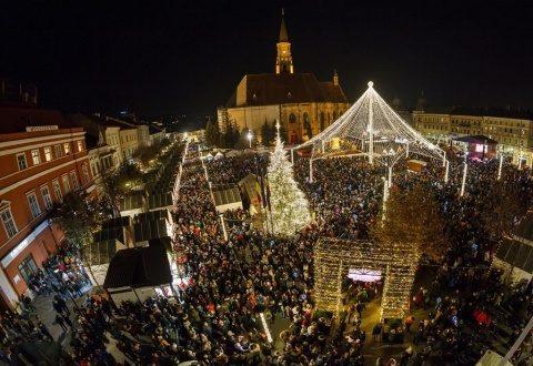 Săptămâna culinară la Târgul de Crăciun de la Cluj-Napoca