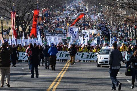 Sute de mii de persoane au participat la Marșul pentru Viață organizat în capitala SUA