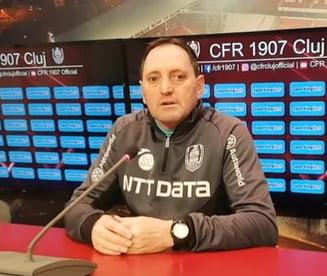 Antrenorul CFR Cluj pe făraş