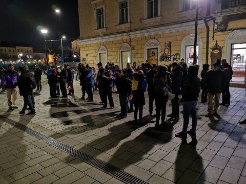 Marș pentru climă la Cluj-Napoca