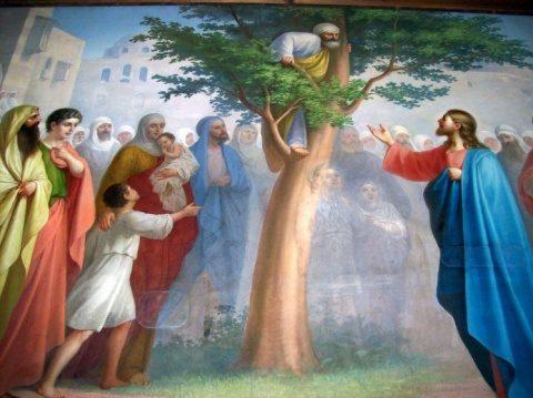 """Evanghelia de Duminică: Zaheu – un """"păcătos"""" smerit"""