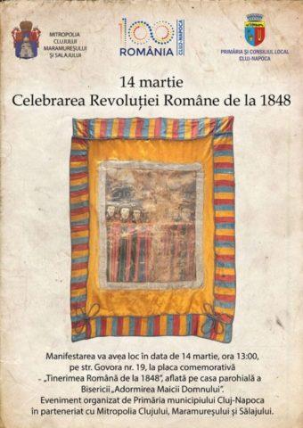 Celebrarea Revoluției Române de la 1848 la Cluj-Napoca