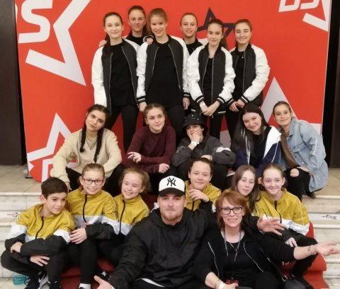 Elevi ai Palatului Copiilor Cluj la mondialele de dans modern din Croația