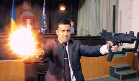 Actorul de comedie Volodimir Zelenski a castigat turul al doilea al alegerilor prezidentiale din Ucraina. De tot râsul!