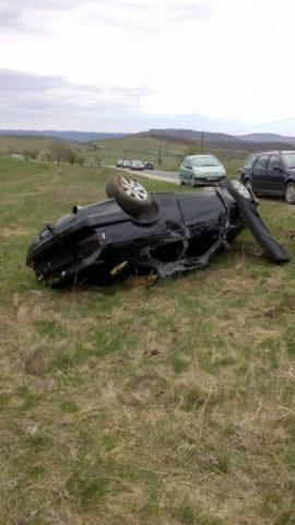Accident lângă Chinteni