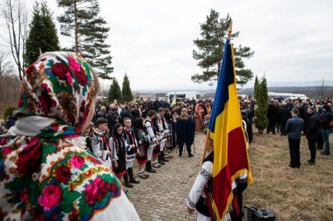 Românii căzuți la Fântâna Albă în 1 aprilie 1941 au fost pomeniţi atât la locul martiriului, cât și la Putna