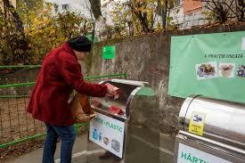 Școlile din municipiul Cluj-Napoca vor avea amenajate puncte gospodărești îngropate