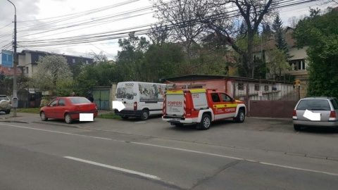Incendiu într-o casă din cartierul Grigorescu. A ars bucătăria