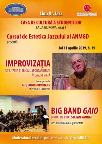 Cursul de Estetica Jazzului al Academiei Naționale de Muzică G. Dima Cluj-Napoca
