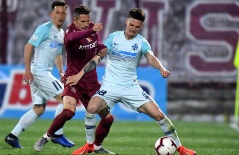 FCSB a învins-o pe CFR Cluj cu scorul de 1-0