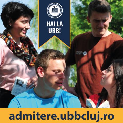 "Admitere Universitatea ""Babeș-Bolyai"" 2019"