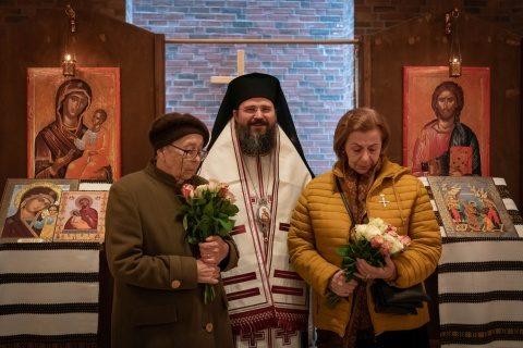 Episcopul Macarie a oferit Crucea Nordului unor foste deținute politic în timpul regimului comunist din România