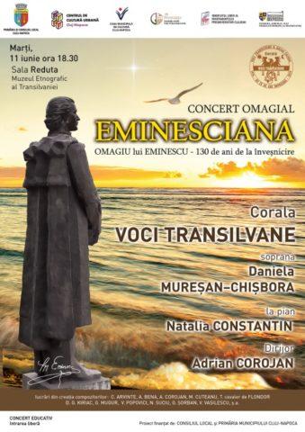 Concert omagial EMINESCIANA. 11 iunie 2019
