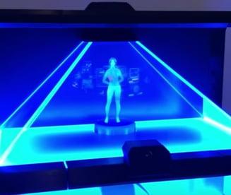 """Antonia, primul """"funcționar public virtual"""" din România, trece în etapa de hologramă la Cluj-Napoca"""