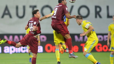 CFR Cluj a surclasat-o pe FC Voluntari cu scorul de 5-0