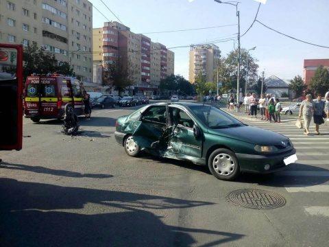 Accident grav pe str. Fabricii din Cluj-Napoca