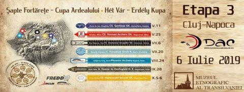 Concurs de tir cu arcul tradițional la Cluj-Napoca