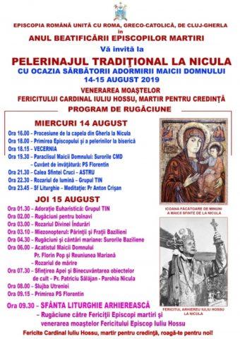 Pelerinajul greco-catolic la Nicula cu prezenţa spirituală a Fericitului Arhiereu Iuliu Hossu