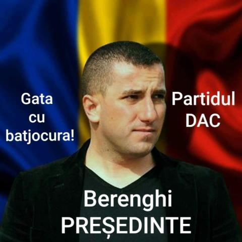 Catalin Ioan Berenghi anunță că va candida la prezidențiale