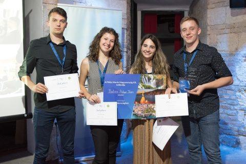 Premii internaționale pentru studenții UBB obținute la Budapesta