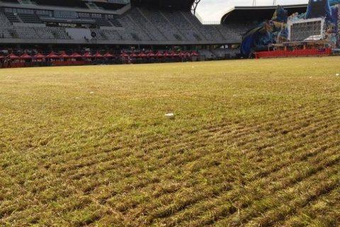 Gazonul de pe Cluj Arena intră în reparații capitale după Untold