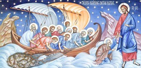Evanghelia de Duminică: Credința în Hristos face potecă printre valurile mării