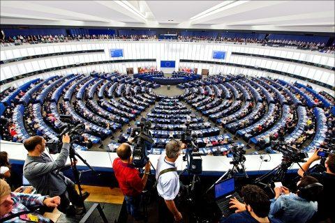 În Parlamentul European nu se ia temperatura la intrare