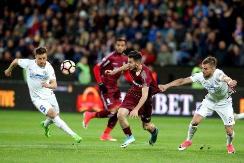 Echipa de fotbal CFR Cluj a fost amendată de Comisia de Disciplină a UEFA cu suma de 3.500 de euro