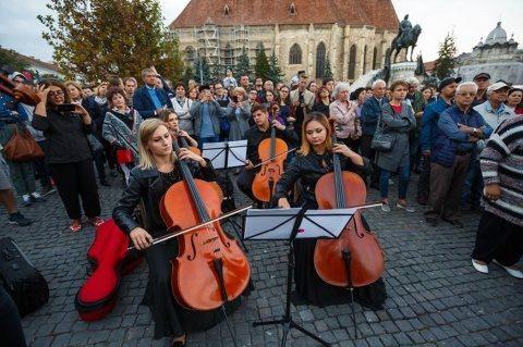 Întâniri muzicale inedite, în cadrul Cluj Symphony Experience