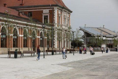 Stația de autobuze din Piața Gării din Cluj va fi demolată