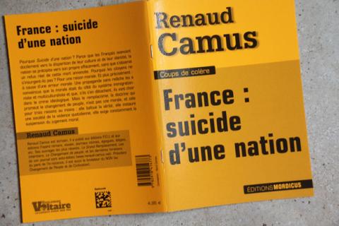 """""""Franţa-sinuciderea unei naţiuni"""" de Renaud Camus"""