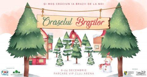 Clujenii sunt așteptați în Orășelul Brazilor în perioada 6-24 decembrie