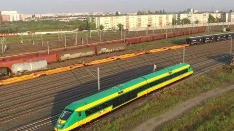România ar putea produce un tren de mare viteză