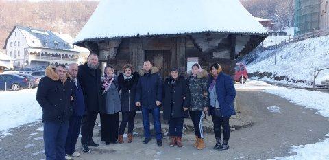 Mama și bunicul Luizei Melencu au avut parte de un moment emoționant la Cluj-Napoca