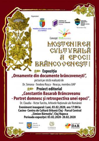 Moștenirea Culturală a Epocii Brâncovenești la Cluj-Napoca. Eveniment cultural de excepţie