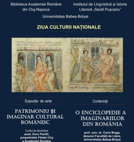 """Expoziția """"Patrimoniu și imaginar cultural românesc"""", la Biblioteca Academiei Române din Cluj-Napoca"""