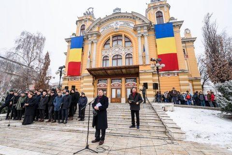 Ziua Culturii Naționale, marcată la Cluj-Napoca printr-un omagiu adus poetului național Mihai Eminescu