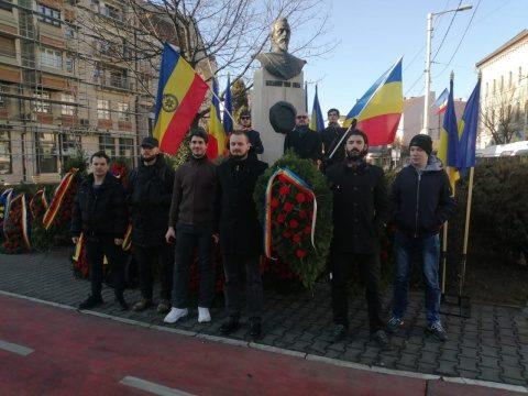 Naționaliștii clujeni au celebrat Unirea Principatelor Române