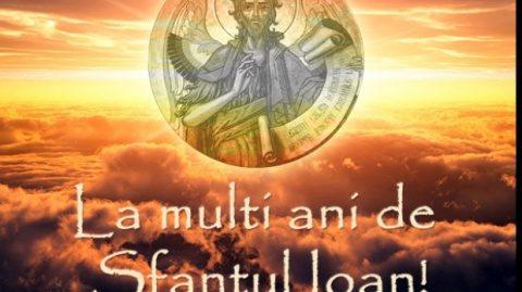 Două milioane de români îşi serbează onomastica astăzi de Sf. Ion
