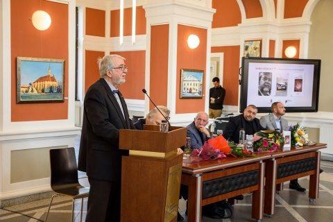 Horia Bădescu a primit titlul de cetățean de onoare al municipiului Cluj-Napoca