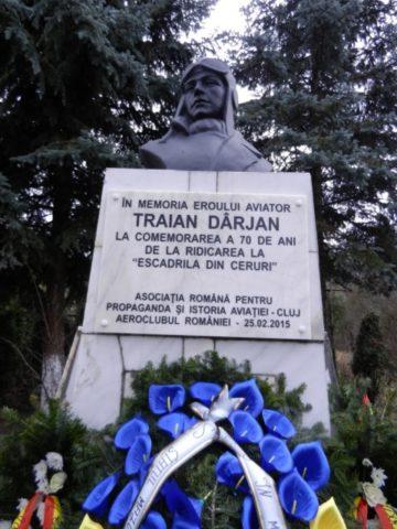 Comemorarea eroului aviator Traian Dârjan: 75 de ani de la ultima decolare