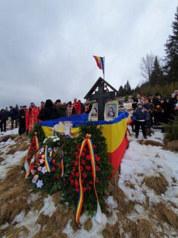 """Comemorarea Eroilor din Grupul """"Șușman"""" în Apuseni"""