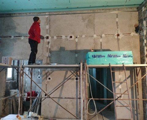 Lucrările de extindere și etajare de la Spitalul de Pneumoftiziologie Cluj avansează în ritm alert